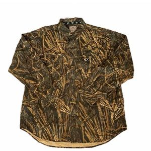 NWOT Mossy Oak Shadow Grass Hunters Camo Shirt XL